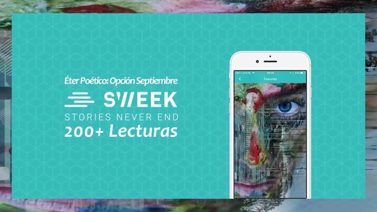 """""""Éter Poético: Opción Septiembre"""" Alcanza las 200 Lecturas en Sweek.com"""